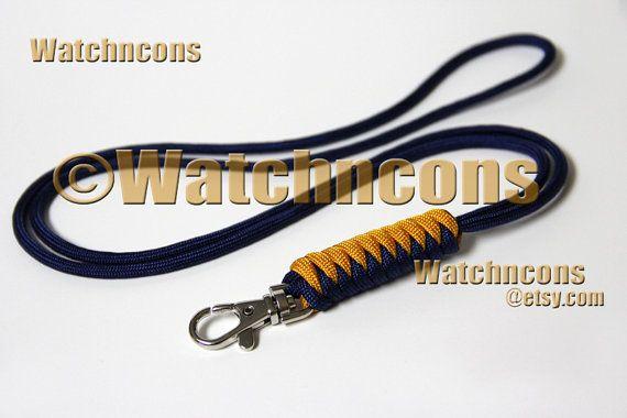 paracord lanyard snake braid snap hook name id badge usb