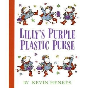 Lillys Purple Plastic Purse