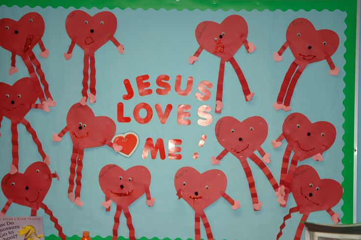 Valentine's Board | Bulletin Board Ideas | Pinterest
