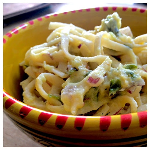 Zucchini-yogurt pasta salad | Big City (small) Kitchen www ...