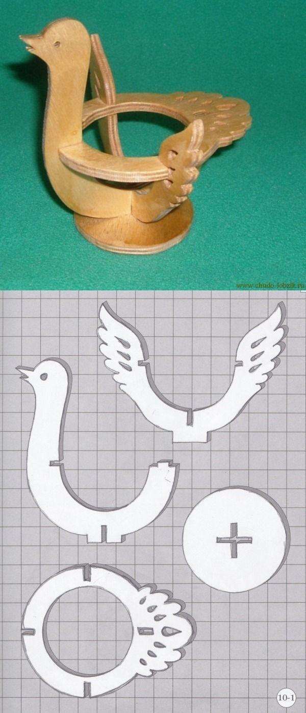 Птицы рисунки для выпиливания