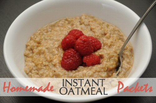 Homemade Instant Oatmeal Packets So yummy, kids loved it! (Made ours ...