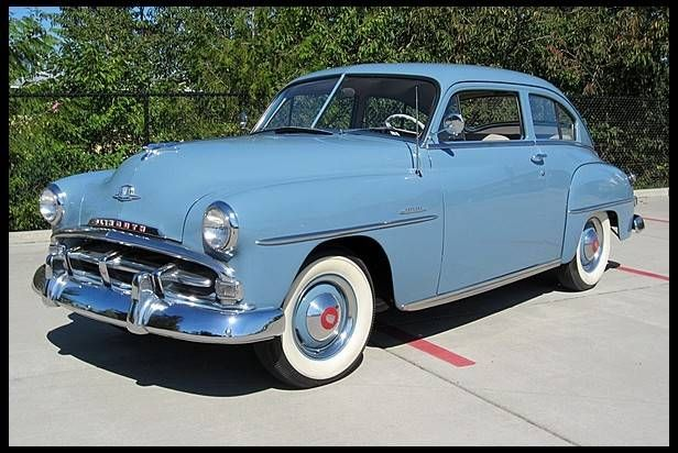 1951 plymouth concord fifties sixties american rides for 1951 plymouth 2 door