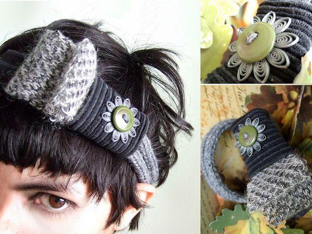 beautiful headband by weird amiga