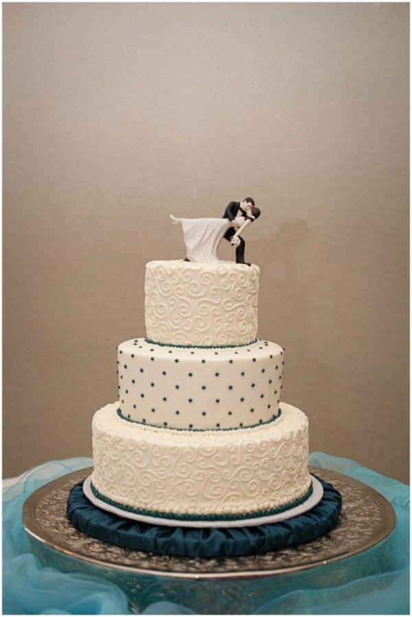Polka Dot Wedding Cake Car Interior Design