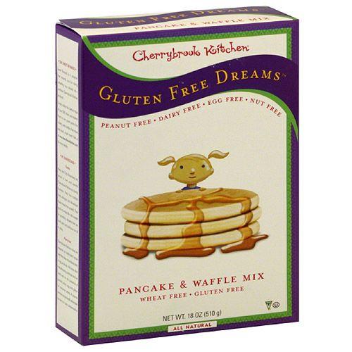 Cherrybrook Kitchen Wheat Free Gluten Free Pancake & Waffle Mix, 18 oz ...
