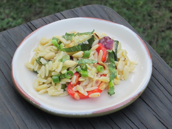 orzo with roasted vegetables2 | Yummmm | Pinterest