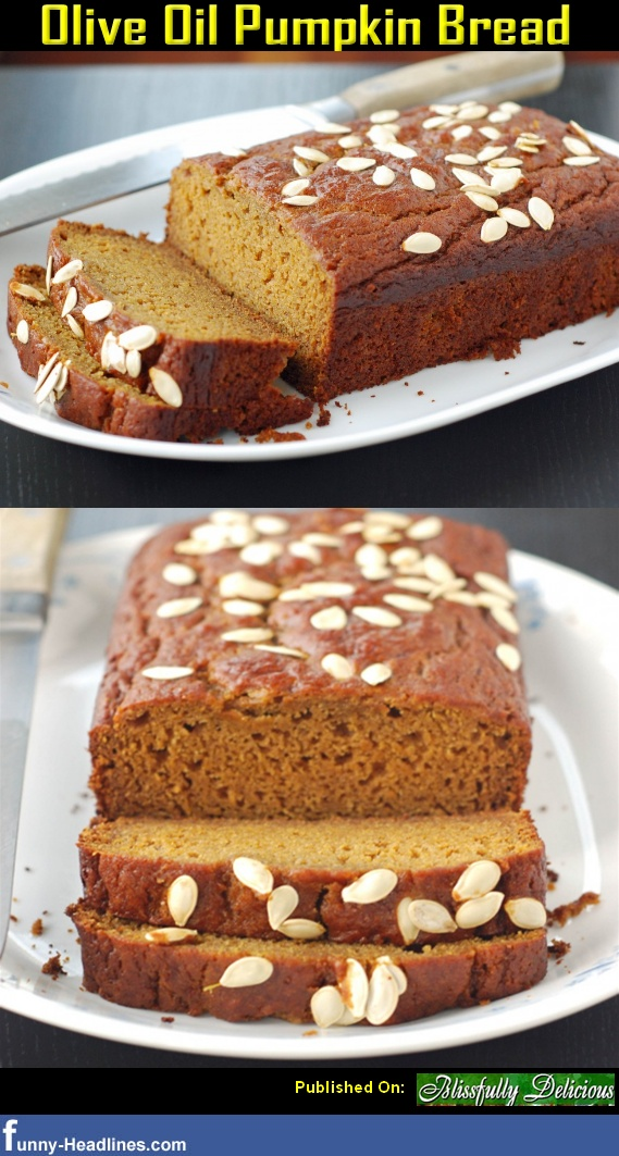 Olive Oil Pumpkin Bread | SAVOURY | Pinterest