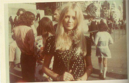 Pattie Boyd, 1960s.