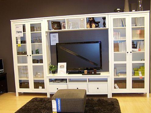 Biblioth Ques Hemnes Ikea Salon Pinterest