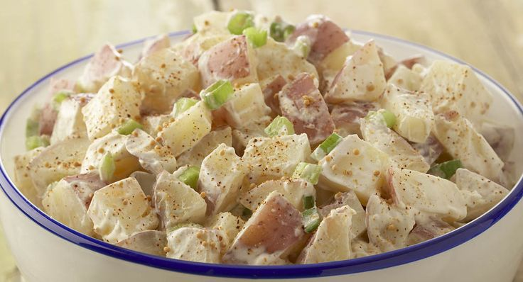 Classic Potato Salad: Use Yukon gold, red or all-purpose potatoes in ...