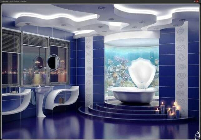 Ocean Themed Bathroom : Ocean themed bathroom for the home