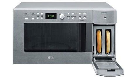 Small space cooking lg combo microwave oven toaster for the home pinterest - Microwave for small spaces image ...