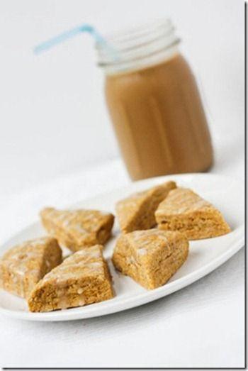pumpkin scones starbucks | great foods and drinks | Pinterest