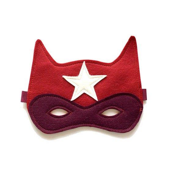 #DIY Superhero felt mask for kids