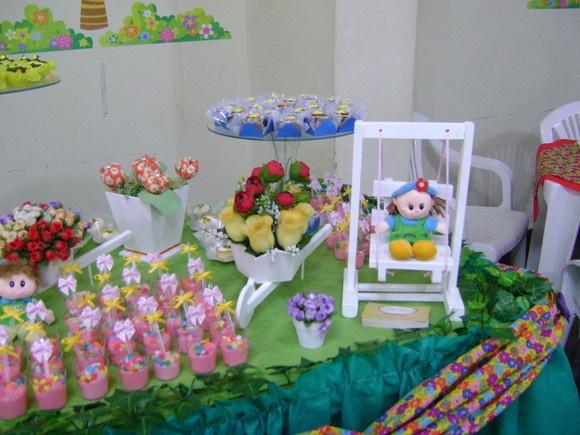 ideias para aniversario jardim encantado:Mesa de aniversário Jardim Encantado