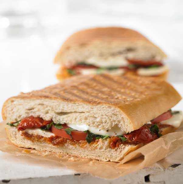 Fresh mozzarella, roasted and fresh tomatoes, fresh basil and all ...
