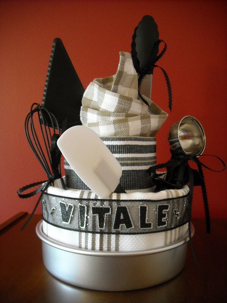 Wedding Gift Ideas Quick : ... utensils. Fun, easy, and quick gift! Gift baskets Pinterest