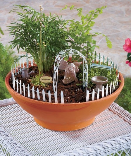 Fairy Garden Kit | Home and Wedding | Pinterest