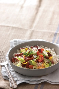 Red Beans and Rice Salad | Green Salads | Pinterest