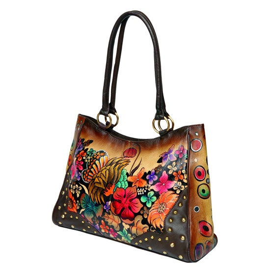 Modapelle Hand Painted Leather Bags