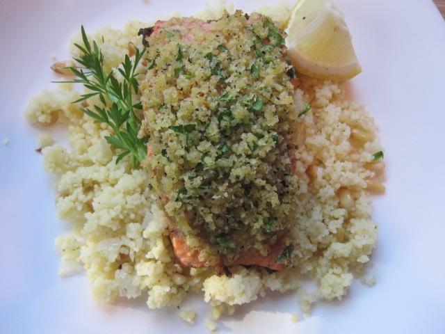 panko crusted salmon | Recipes: Bon Appetit | Pinterest