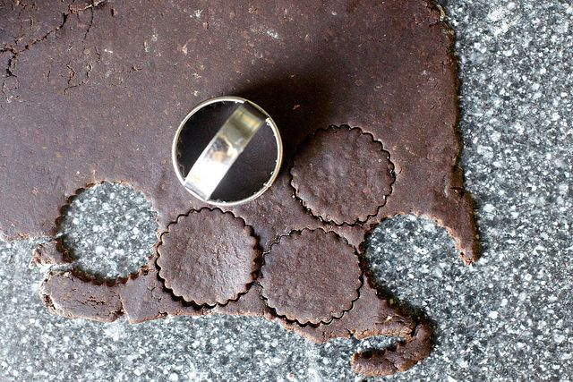 Intensely Chocolate Sables (9 ingredients: flour, Dutched cocoa powder ...