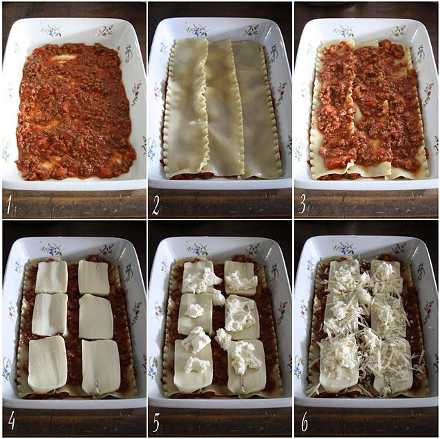 how to make lasagna easy steps