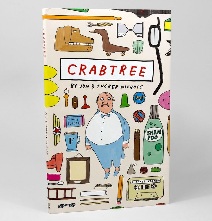 Crabtree, a quirky, hilarious new kids' book from McSweeney's. Our kids adore it!