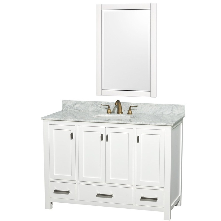 Model Restoration Hardware Hutton Double Washstand