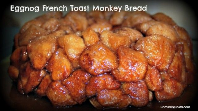 Eggnog Monkey Bread Recipe — Dishmaps