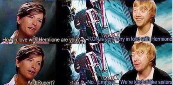 Sisters...   Harry Potter руперт гринт