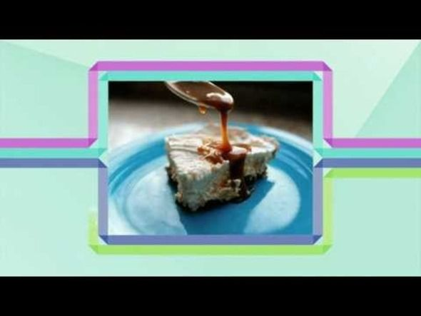 Ice Cream Pie with Easy Caramel Sauce | Mouth watering recipes | Pint ...