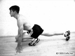 hip flexor exercises with foam roller