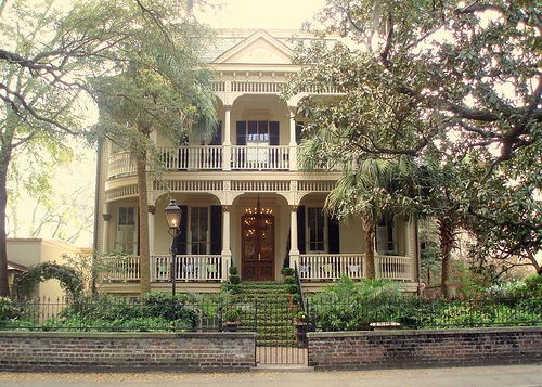 Historic house in savannah georgia dream home pinterest for Dream homes georgia