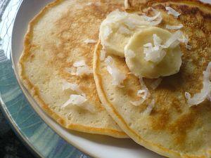 Coconut Pancakes | Fud - Sweet & Savory - Pancakes, Crêpes, Bread Pud ...