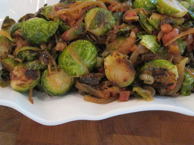 sprouts thanksgiving by emeril roasted brussels sprouts w caramelized ...