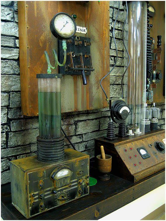 Frankenstein Laboratory Equipment