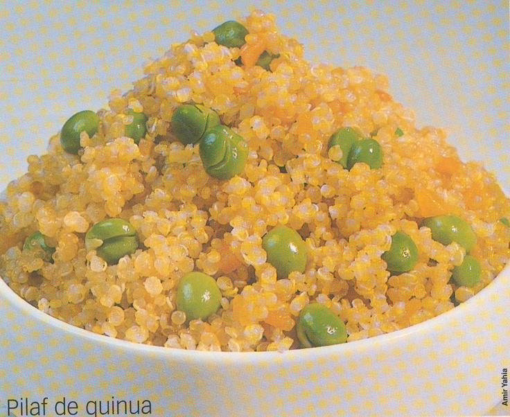 Quinoa pilaf | For the LOVE of Food! | Pinterest