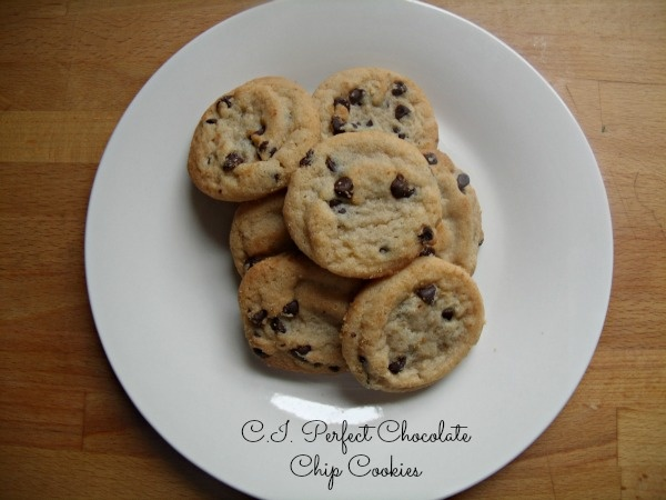 Perfect chocolate chip cookies | Desserts I love.... | Pinterest