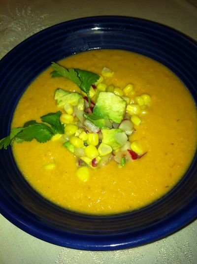 Vegan Corn Chipotle Soup | Healthy Things :] | Pinterest