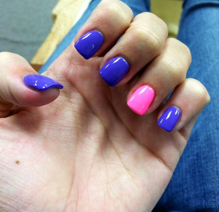 1000+ Ideas About Short Square Nails On Pinterest