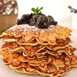 Oatmeal Pancakes with blueberry compote | Motivation to Cook | Pinter ...