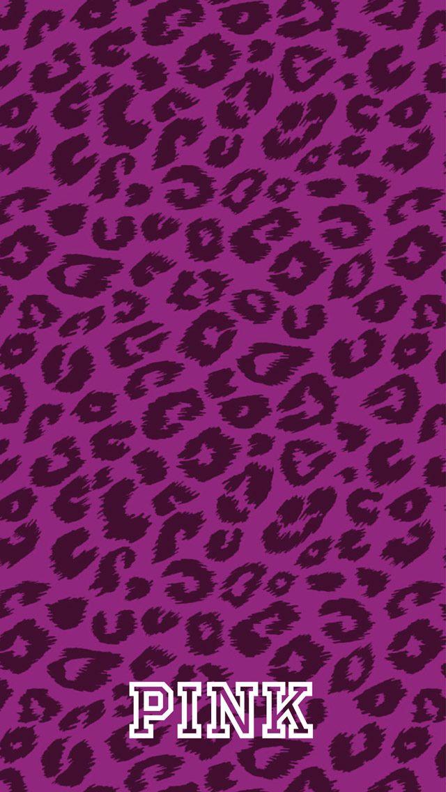 Victorias secret pink leopard wallpaper