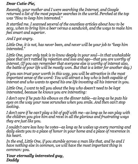 Father daughter letter remember pinterest