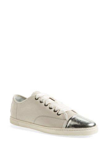 Lanvin Cap Toe Sneaker (Women) available at #Nordstrom