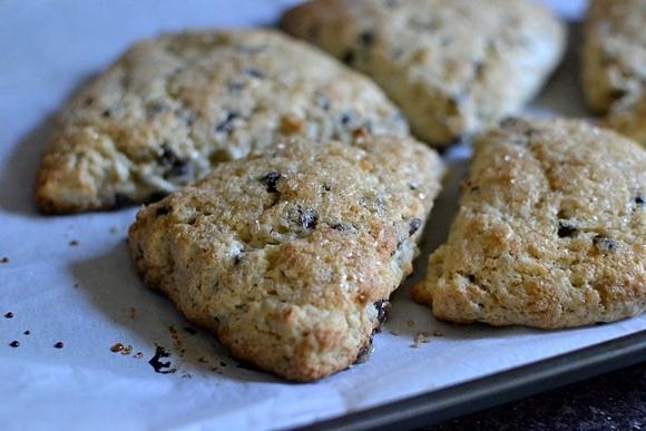 Chocolate coconut scones | Recipes | Pinterest