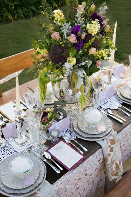 Wedding Tablescape Ideas Decorations Elegant