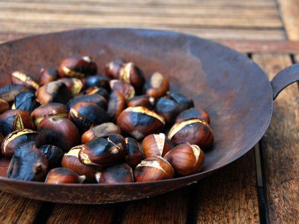 roasted chestnuts | Christmas Food | Pinterest