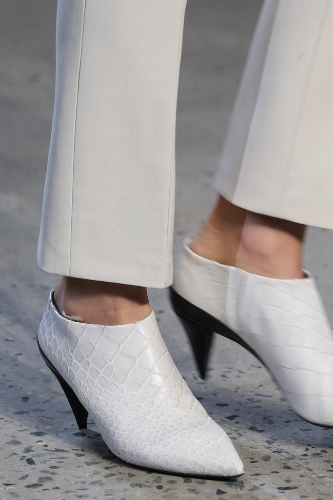 shoes @ Narciso Rodriguez Spring 2015